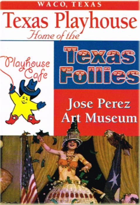 Gary Powell, writer 1998 Texas Follies, Waco Texas