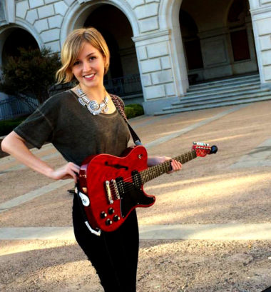 Singer-Songwriter Annie Harris brings her Music Production & Music Business Acumen to Lone Star Voices.